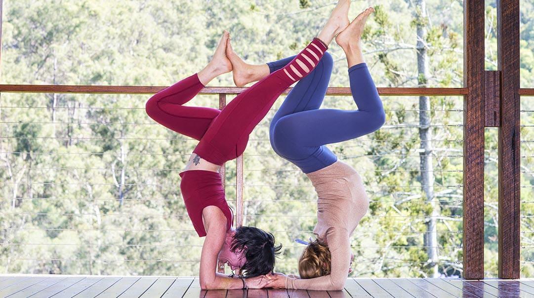Training to become a yoga teacher