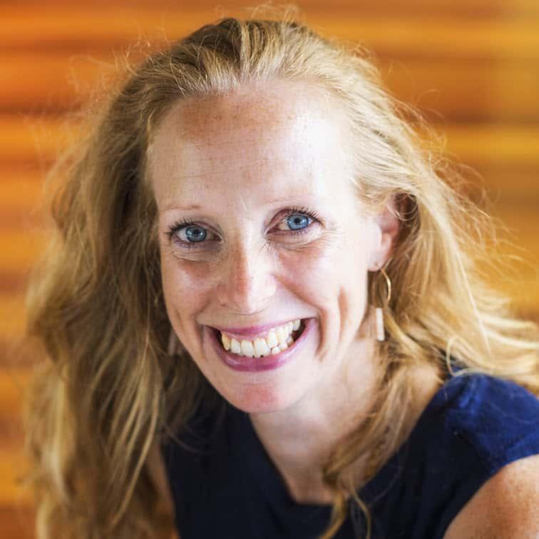 example yoga teacher
