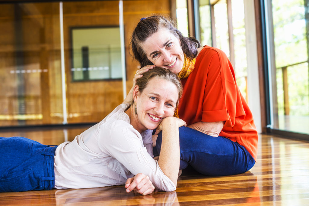 Leanne and Celia